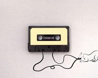Playful Tape Cassette