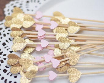 Mini donut skewers for sweets table (set of 18)  - doughnut skewers - wedding donut tower