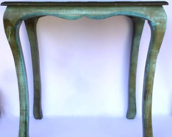 Shabby AQUA SIDE TABLE