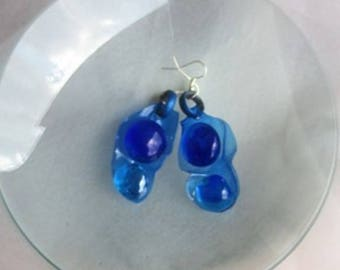 Droplet Earrings-2 beads