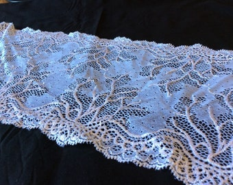 White and pink lace from a well known French manufacturer