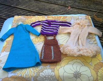 Vintage handmade Sindy Clothes