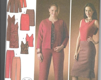 Simplicity | 4093 | Misses' Skirts with Length Variations | Uncut and Factory Folded