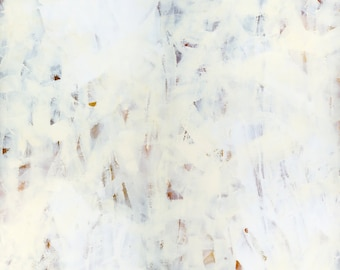 """ORIGINAL Abstract Painting on canvas 16x20, Abstract canvas art, white minimalism """"Highlandia 1"""""""