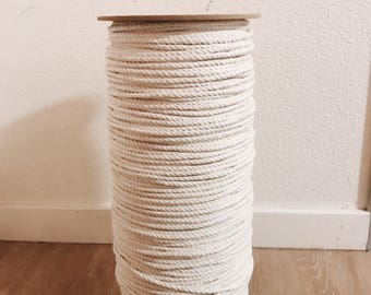 5mm 1000ft twisted cotton rope!