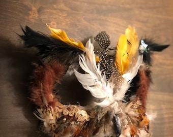 Handmade Owl Mask