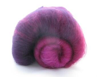 Merino Gradient Batt 40g Purple
