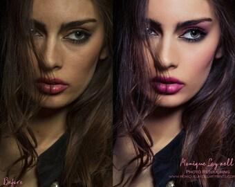 Professional Photo Retouching  Pro Finish effect Digital Photo Editing 046