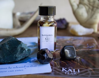 Kali Oil Elixir Potion - Empowerment, Rebirth, Time, Cycles, Courage, Cleansing, Change, Transformation