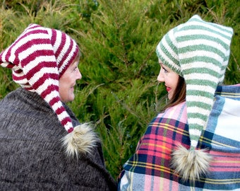 sugarplum hat KNITTING PATTERN