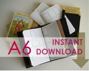 Printable Tarot Spreads: A6