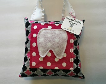 Tooth Fairy Pillow - Tooth Holder - Tooth Fairy - Children's Gift - Girls Tooth Fairy Pillow - Tooth Storage - Girls Pillow