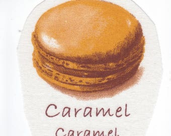 """Images to sew """"Macaroon"""" # Caramel scent with the scent name. Yum!"""