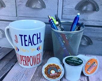 I Teach Coffee/Tea Mug
