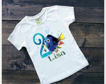 Dora Birthday Tee Shirt or Bodysuit; Bodysuit size 6-24 Month;Tee 2T and up
