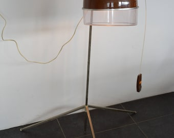 Unique floorlamp upcycled from a 1960's Kalorik Hair Dryer