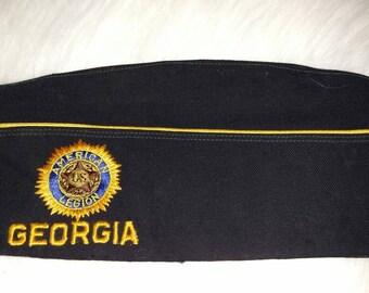 Vintage American world war 2 garrison cap state of Georgia American Legion