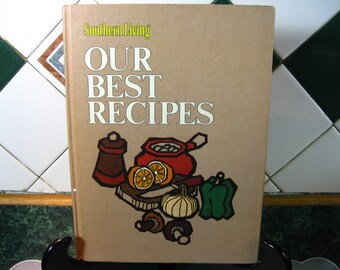 Southern Living Our Best Recipes Cookbook - Cookbook- Vintage - Southern Living - Book - Kitchen - Vintage Kitchen - Gift For Mom - Gift