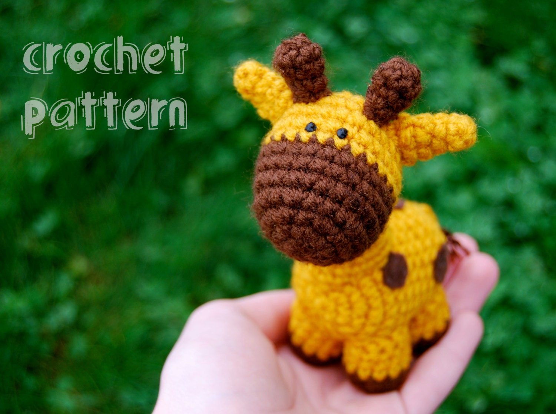 PDF CROCHET PATTERN Stumpy the Giraffe