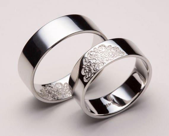 His and Hers Wedding Bands Matching Wedding Bands Matching