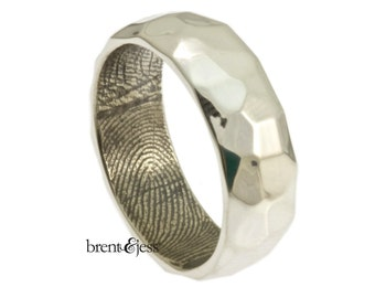 Hammer Styled Band with your Fingerprint on the Interior