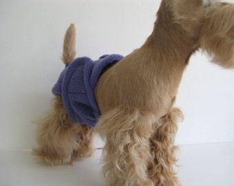 POOCHIE PANTZ dark lavender female dog diaper, custom made, all sizes