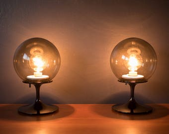 Vintage Pair Of Stemlite Lamps By Bill Curry