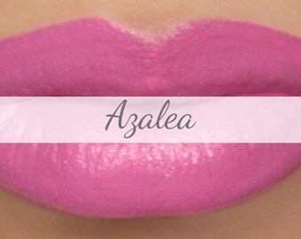 "Vegan Pink Lipstick Sample - ""Azalea"" natural lip tint"