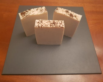 Caffe Latte & Chocolate - Handmade soap from the Peak District