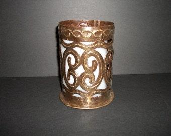 Haitian Candle Holder