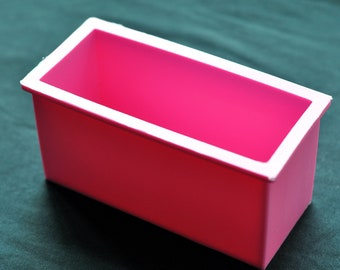 Flexible Silicone Silicon Rectangle Cuboid Bar Soap Molds Cake Candle Molds - Thick