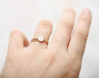 Dainty Staking Ring • Staking Ring • Minimalist Staking Ring • Gold Staking Ring  • Staking Ring • Ring • Gold Ring • Rose Gold Ring •