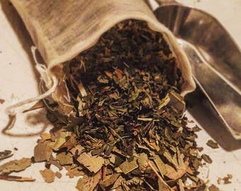 Peppermint and Eucalyptus Smudge/Smoke Sachet