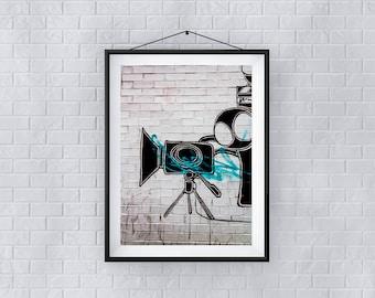 Cinematography - Premium Quality – Wall Art - Giclée Print – Urban Art - Martin Sylvester - Sylvo81