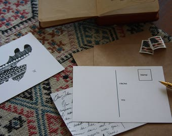 Moose Postcard (pack of 5)
