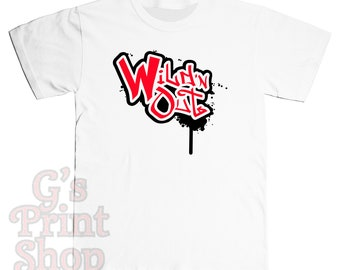 Wild N Out T Shirt - Hip Hop - Urban - Nick Cannon Comedy - Red & Black