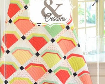 Fig Tree Quilts Booklet Sherbets and Creams, FT201BR, 5 Patterns