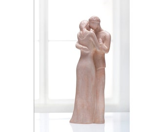 Intimate Dance - Man and Woman Sculpture