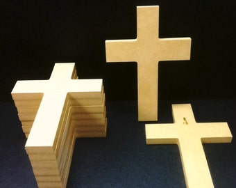 50 Unpainted 6'' x 9'' Crosses, Great for VBS, Free Shipping VBS50-2