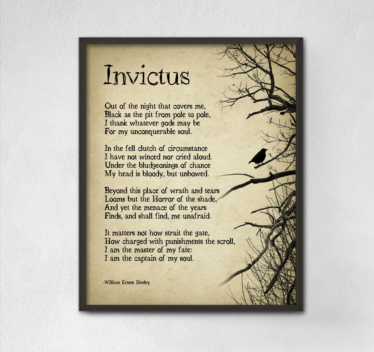 invictus peom essays 30 great poems everyone should know we're delighted to bring you a collection of 30 wonderful poems from the new if poems app — and we want you to write the next.