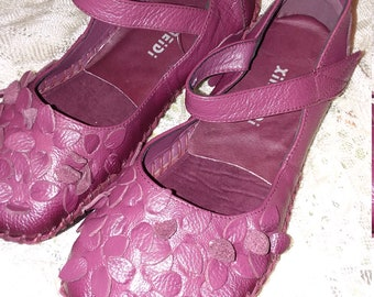 Handmade Leather Women's Mary Jane Shoes