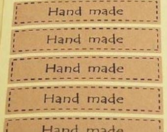 Hand made stickers, Hand made seal, bag seal, seal sticker, stickers, baking stickers