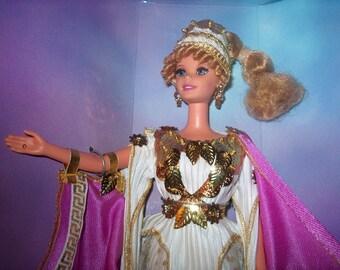 Vintage Barbie Doll, 1995, Grecian Goddess, NIB, Mattel