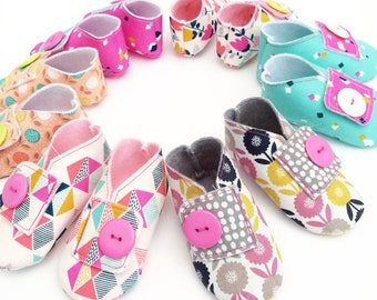 Dashwood Fabric Baby Shoes