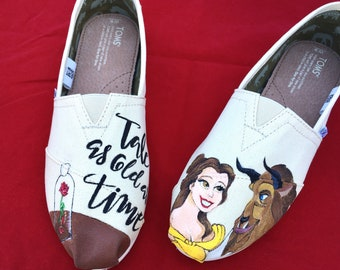 Beauty and the Beast Toms - Womens Size