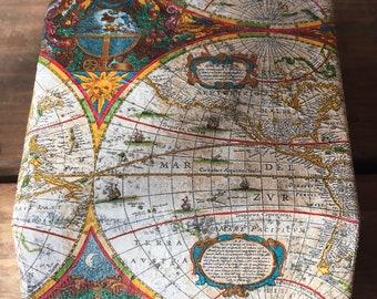 Golden Map Rolodex