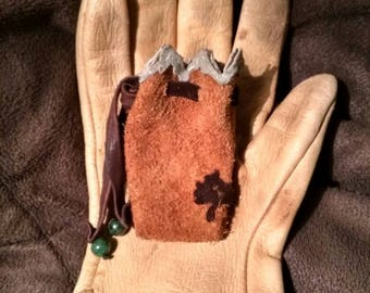 Mountain Medicine Bag with Sage