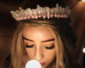 THE SWEETHEART {Crystal Crown, Bridal, Bohemian}