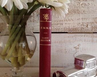 Jane Austen, Emma, Illustrated by Philip Gough, Color and Black & White Illustrations, Vintage Book, Jane Austen Gifts