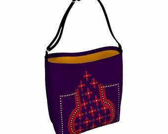Boho Tote Bag - Waist Bag - Messenger Bag Women - Women Hip Pouch - Everyday Womens Bag - Cross Body Bag - Bum Bag - Bags and Purses